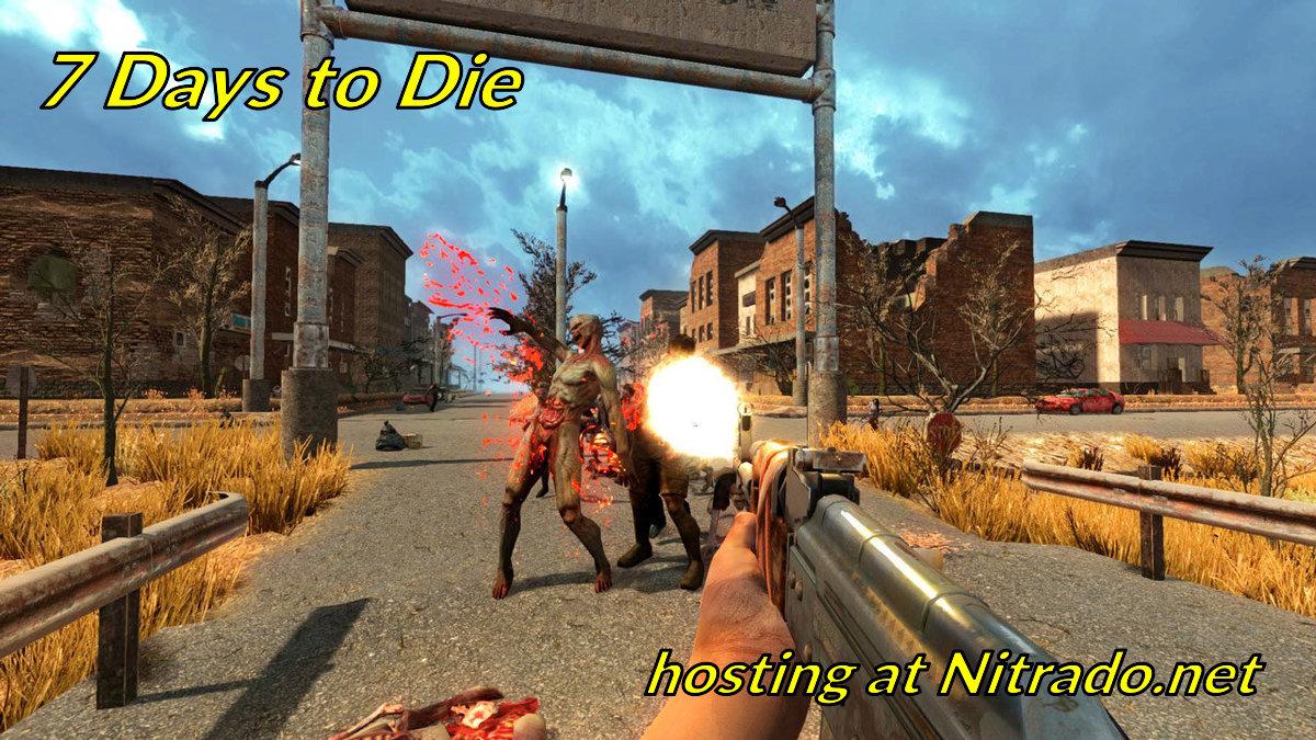 7 Days To Die game hosting at Nitrado net - GoodGameServers com